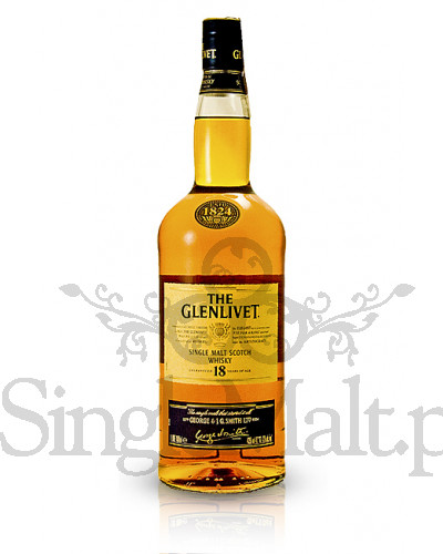 Glenlivet 18 Years Old / 43% / 1,0 l