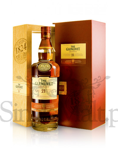 Glenlivet 21 Years Old Archive / 43% / 0,7 l