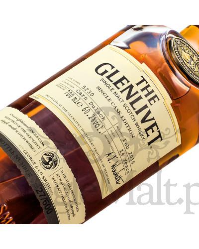Glenlivet 14 Years Old / Cask 5230 / Carn Dulack / 2016 / 60,2% / 0,7 l