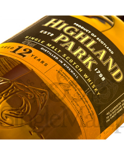 Highland Park 12 Years Old / 43% / 0,75 l
