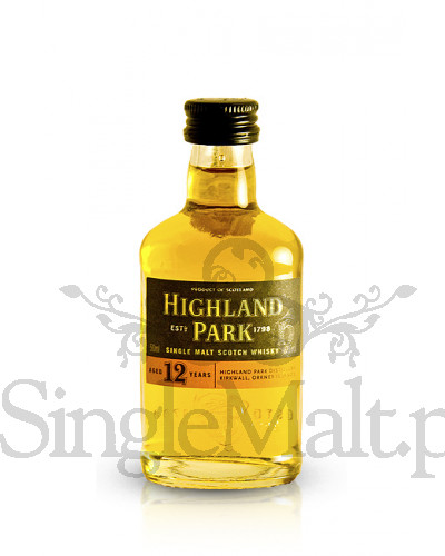 Highland Park 12 Years Old / 40% / miniaturka 0,05 l