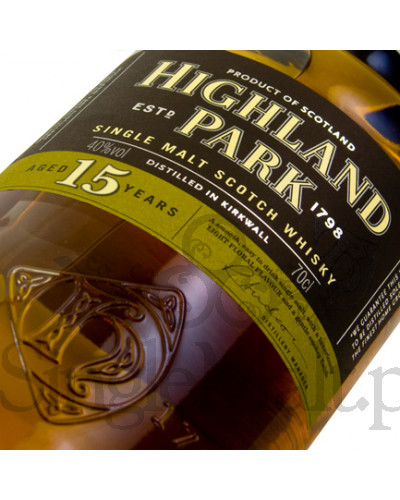 Highland Park 15 Years Old / 40% / 0,7 l