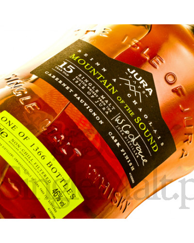 Isle of Jura 15 Years Old / Mountain of Sound / 46% / 0,7 l