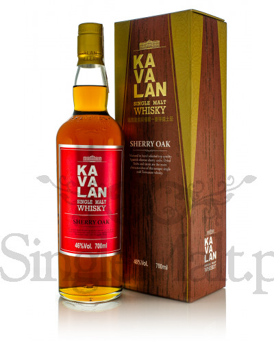 Kavalan Sherry Oak / 46% / 0,7 l