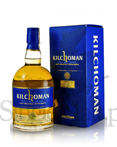 Kilchoman 3 Years Old Spring 2010 Release / 46% / 0,7 l