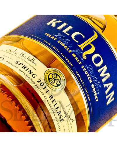 Kilchoman 3 Years Old Spring 2011 Release / 46% / 0,7 l