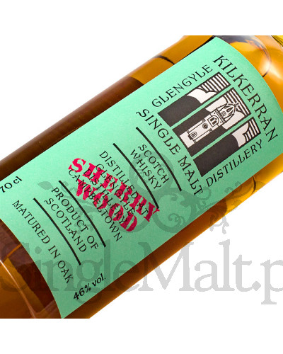 Kilkerran Work in Progress 7th release / Sherry wood / 46% / 0,7 l