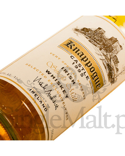 Knappogue Castle 1995 / Bushmills / 40% / 0,7 l