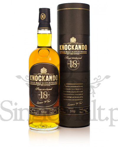 Knockando 18 Years Old Slow Matured / 1995 / 43% / 0,7 l