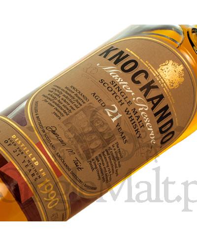 Knockando 21 Years Old / 1990 / skrzynka + 2 szklanki Glencairn / 43% / 0,7 l