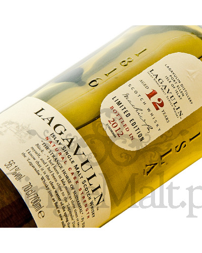 Lagavulin 12 Years Old / 2012 / 56,1% / 0,7 l