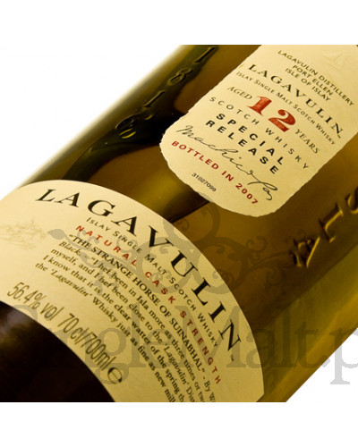 Lagavulin 12 Years Old / 2007 / 56,4% / 0,7 l