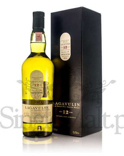 Lagavulin 12 Years Old / 2014 / 54,4% / 0,7 l