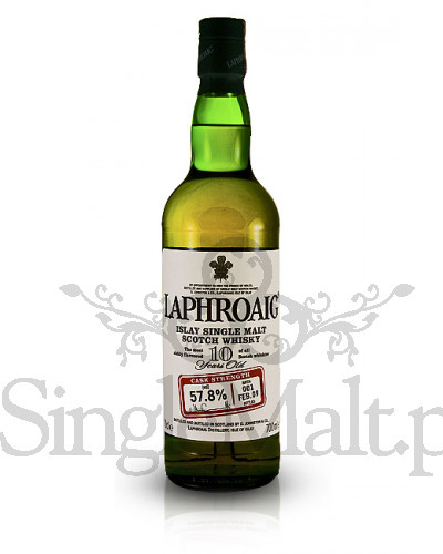 Laphroaig 10 Years Old Cask Strength (batch 1) / 57,8% / 0,7 l
