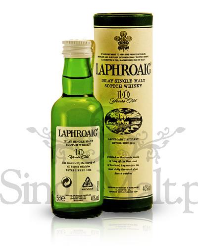 Laphroaig 10 Years Old / 40% / miniaturka 0,05 l