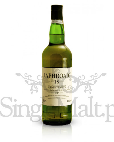 Laphroaig 15 Years Old / 43% / 0,7 l