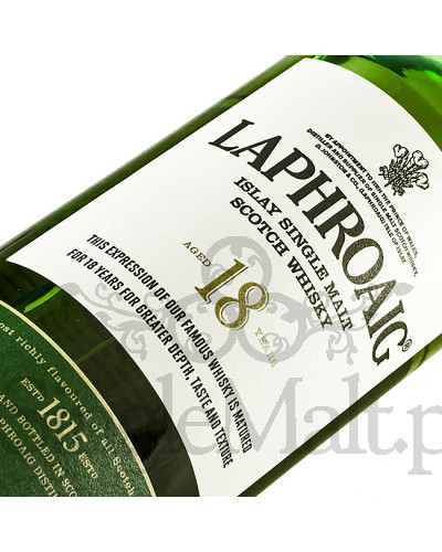 Laphroaig 18 Years Old / 48% / 0,7 l