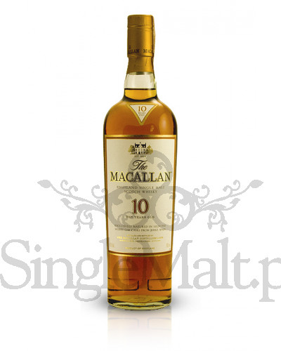 Macallan 10 Years Old Sherry Oak  / 40% / 0,7 l