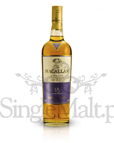 Macallan 18 Years Old Fine Oak  / 43% / 0,7 l