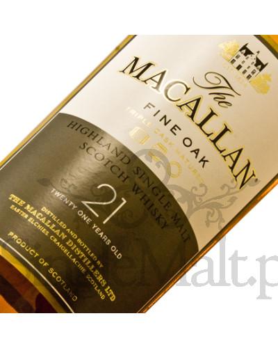 Macallan 21 Years Old Fine Oak  / 43% / 0,7 l