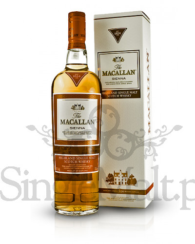 Macallan Sienna / The 1824 Series / 43% / 0,7 l