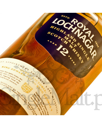 Royal Lochnagar 12 Years Old / 40% / 0,7 l