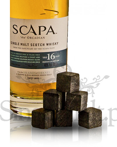Scapa 16 Years Old (kamienne kostki) / 40% / 0,7 l