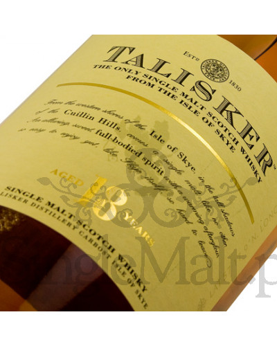 Talisker 18 Years Old / 45,8% / 0,7 l