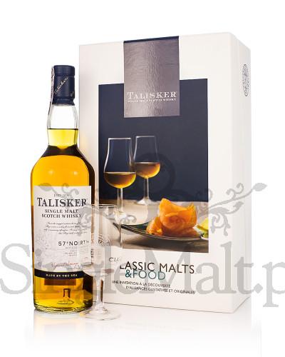 Talisker 57° North + 2 szklanki / 57% / 0,7 l