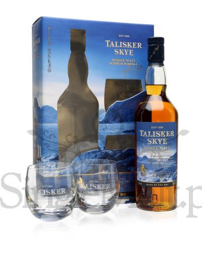 Talisker Skye + 2 szklanki / 45,8% / 0,7 l