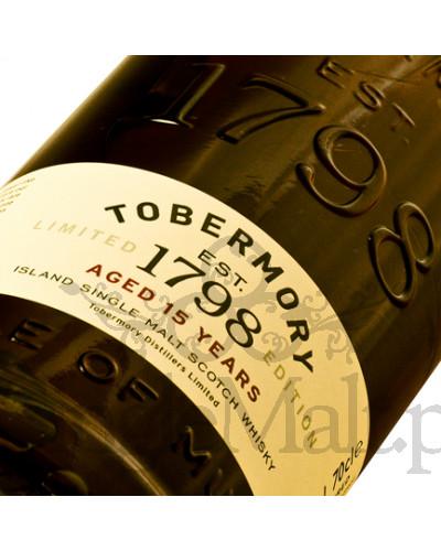 Tobermory 15 Years Old / 46,3% / 0,7 l