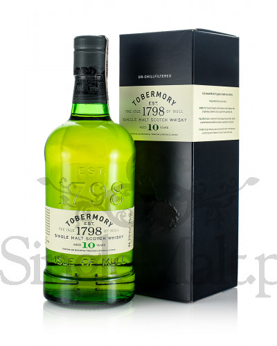 Tobermory 10 Years Old / 46,3% / 0,7 l