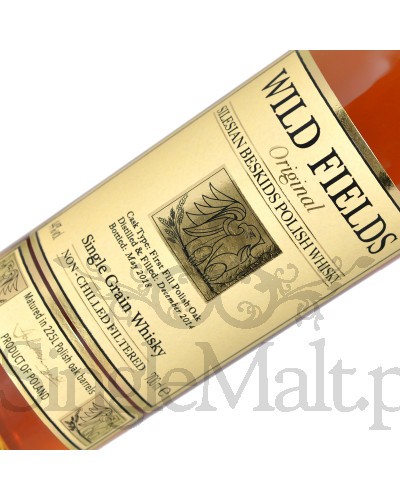 Wild Fields Original Single Grain Polish Whisky / 44% / 0,7 l