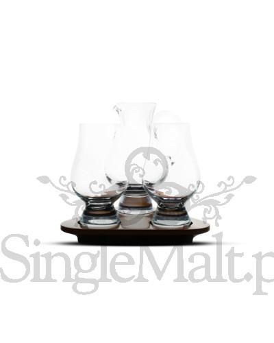 Zestaw 2 szklanek i dzbanek Glencairn Glass z podstawką