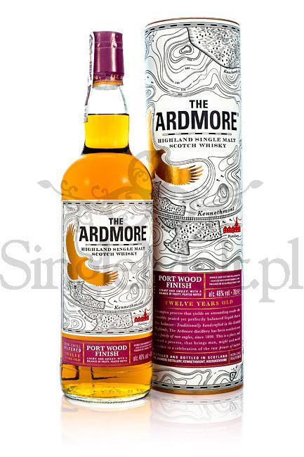 Ardmore 12 YO / Port Wood Finish / 46% / 0,7 l