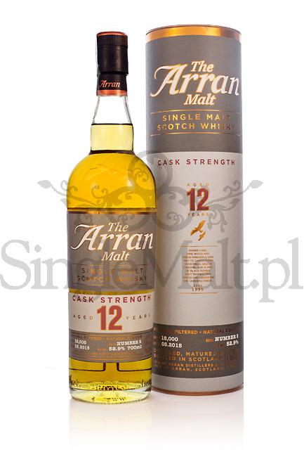 Isle of Arran 12 Years Old Cask Strength (batch 5) / 52,9% / 0,7 l