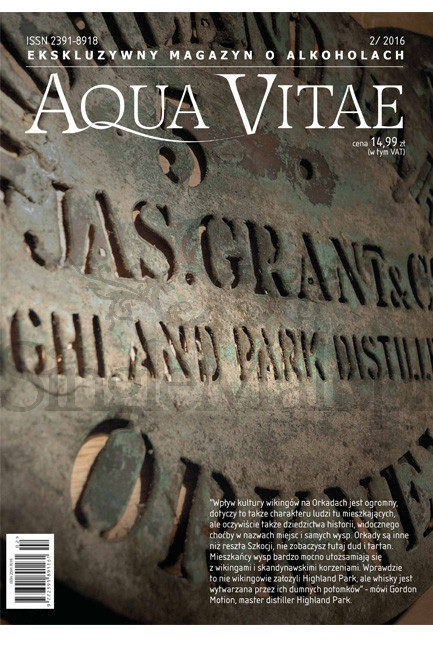 Aqua Vitae - magazyn o alkoholach - 02-2016