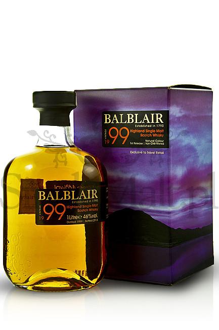 Balblair 1999 Vintage / 1st release / 46% / 1,0 l