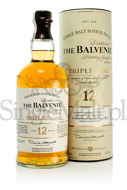 Balvenie 12 Years Old Triple Cask / 40% / 1,0 l