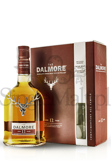 Dalmore 12 Years Old + 4cl Cigar Malt Reserve / 40,21% / 0,7 l + 0,04 l