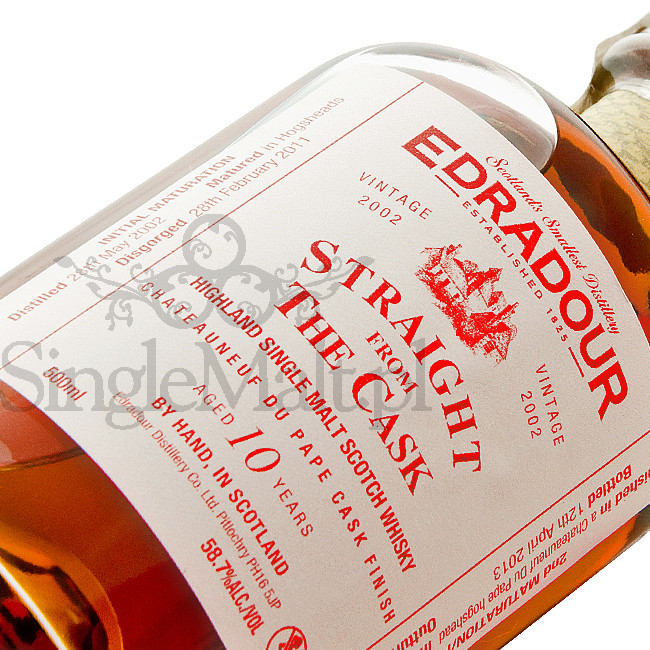 Edradour Straight from The Cask / Chateauneuf du pape / 58,7% / 0,5 l