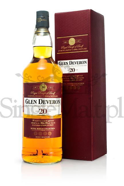 Glen Deveron 20 Years Old / 40% / 1,0 l