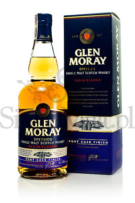Glen Moray Classic / Port Cask Finish / 40% / 0,7 l