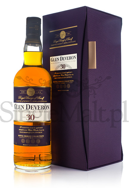 Glen Deveron 30 Years Old / 40% / 0,7 l