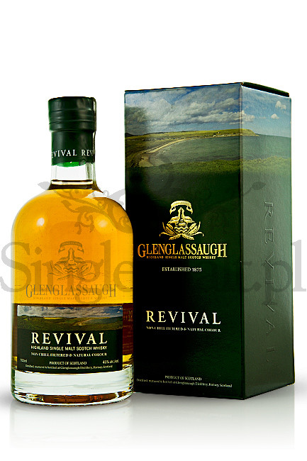 Glenglassaugh Revival / 46% / 0,7 l