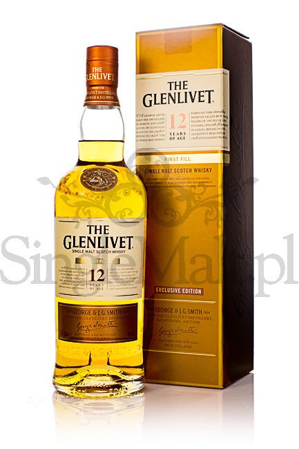 Glenlivet 12 Years Old / First Fill / 40% / 0,7 l