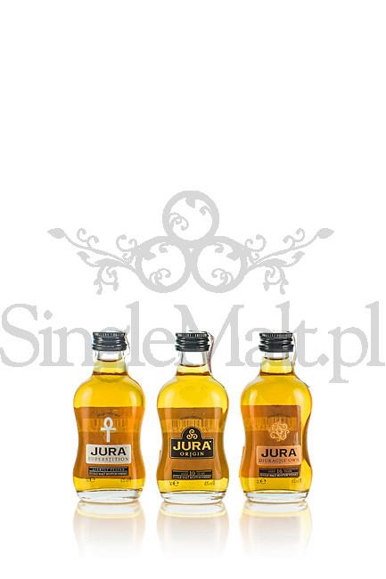 Zestaw Jura / Superstition, 10 YO Orgin, 16 YO Diurach's Own / 41% / 3 x miniaturka 0,05 l