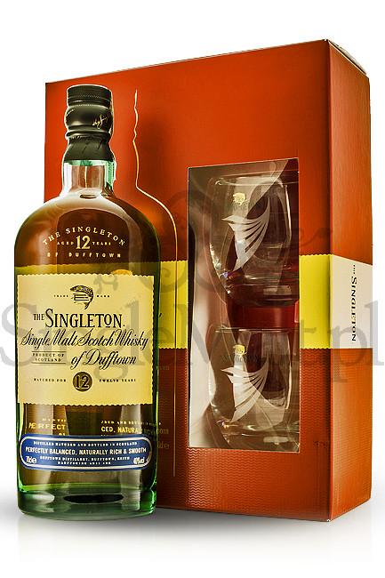 Singleton of Dufftown 12 Years Old + 2 szklanki / 40% / 0,7 l